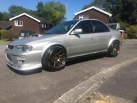 SUBARU IMPREZA UK TURBO 2000 MODIFIED WIDE ARCH SC46 TURBO 400 BHP FORGED