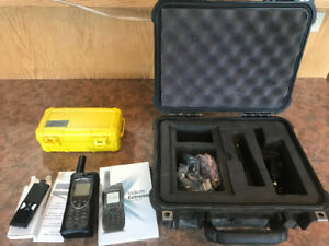SAT PHONE IRIDIUM EXTREME COMPLETE CASE AND MINUTES AVAILABLE !