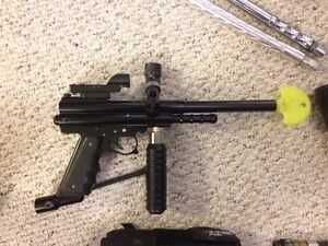 Spyder Paintball Marker with tons of upgrades and extras Cambridge Kitchener Area image 3
