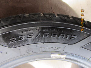 235/55R17 Winter Tires + spare