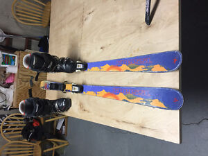 Skis and boots combo