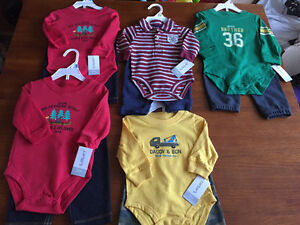 New! Carters 2 pc outfits. Size 3,6,9 mths Kitchener / Waterloo Kitchener Area image 1