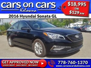 2016 Hyundai Sonata GL w/BlueTooth, USB Connect, Satellite Radio