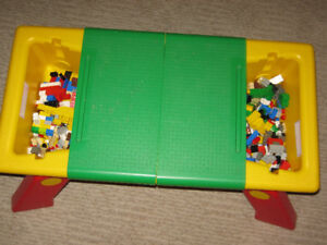 Lego Portable Table - EUC - lego not included