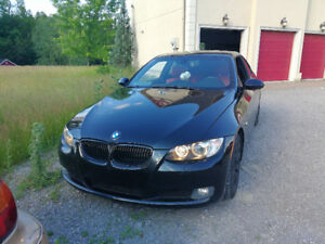 2009 BMW 335i Red Leather Interior.Great Condiction