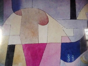 """Lithograph by Paul Klee """"Black Columns In A Landscape"""" 1919 Stratford Kitchener Area image 6"""