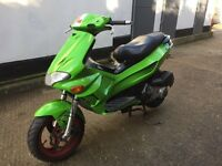 2005 Gilera Runner 125cc learner legal 125 cc with 210cc racing kit. Has 1 years MOT.