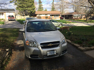2010 Chevrolet Aveo Ls Sedan LOW KMS mint condition for sale