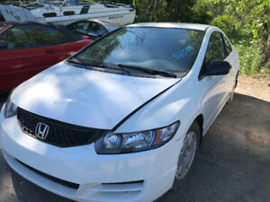 2009 Honda Civic DX *** FOR PARTS *** INSIDE & OUTSIDE