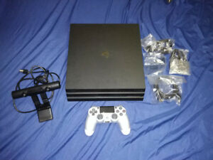 Mint Condition PS4 Pro Upgraded to 2 TB and All Accessories