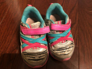 Toddler Girl Sneakers Size 5