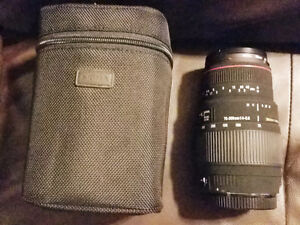 Sigma 70-300mm f/4-5.6 DG APO Macro Zoom Lens for Canon SLRs