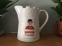 Vintage beefeater jug