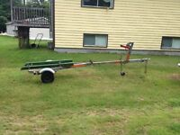 12-16ft boat trailer