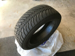 "4 like new 225/55 R 17"" Ultra Grip Good Year Winter Tires"