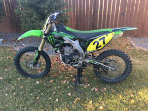 2010 Monster Energy Kawasaki 450 f