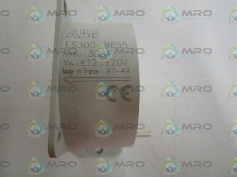 ABB 12-20V 300AMP CURRENT TRANSDUCER ES300-9655 * NEW IN BOX *