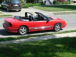 1995 CUTLASS SUPREME CONVERTIBLE 3.4 DOHC
