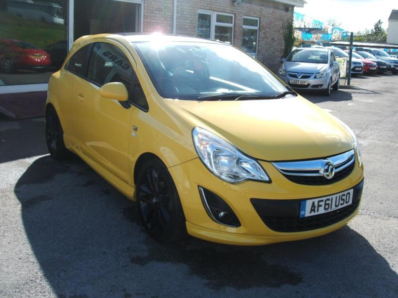 2011 61 Vauxhall/Opel Corsa 1.2i Limited Edition 3d **New MOT**