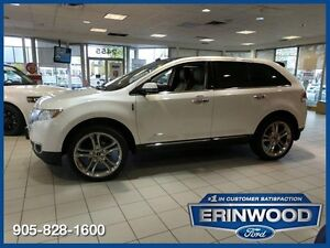 2015 Lincoln MKX 3.7L V6/LTHR/PAN ROOF/REM START/BLIS