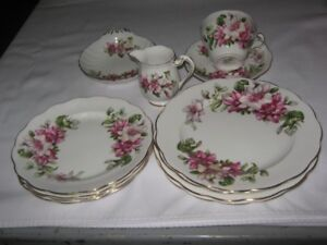 ROYAL STANDARD BONE CHINA  RAMONA PATTERN.LOT OF 12