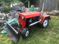 One of a kind vw tractor must see!!!!