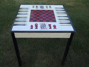 card table/games table