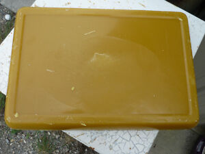 Beeswax and shea butter