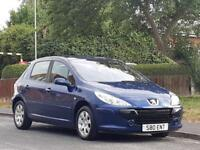 Peugeot 307 1.6HDi ( 90bhp ) 2005MY S,GOOD SERVICE HISTORY,LONG MOT,LOW INSURE