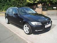 BMW 318 2.0TD d TOURING EXCLUSIVE EDITION £30 ROAD TAX SAT NAV ONLY ONE OWNER