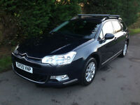 59 REG - CITROEN C5 1.6HDi VTR+ TURBO DIESEL ESTATE 5 SPEED MANUAL - SAT NAV