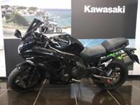 2013 KAWASAKI ER6F EX650 ECF in Black Very Low Mileage,Rear Hugger,Heated ...