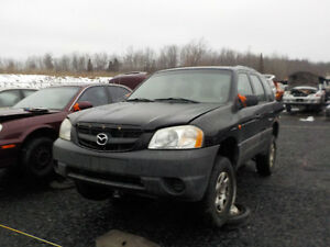 2002 Mazda Tribute Now Available At Kenny U-Pull Cornwall Cornwall Ontario image 1