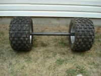 BUILD YOUR OWN ATV TRAILER WITH THIS COMPLETE AXLE