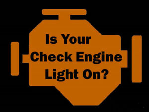 Check Engine Light - Scan and Clear  $20 -30