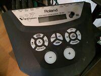 Roland TD6VX drum kit.