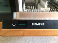 Integrated Siemens appliances - oven, hob, washer dryer, dishwasher