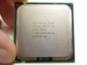 Processeur Intel Core 2 Duo E8400 - Socket LGA 775