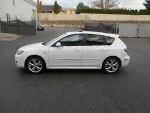 2007 Mazda Mazda3 5 Speed Winter Tiers Runs Great Hatchback