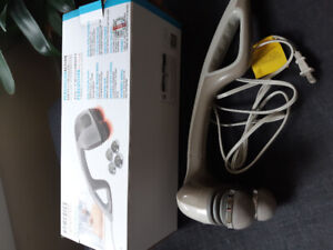 Very new Homedics #1 Hand held Percussion massager with heat
