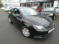 2012 Seat Ibiza 1.2 SportCoupe S - Black - Platinum Warranty!