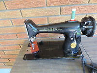 HEAVY DUTY SINGER 201 SEWING MACHINE