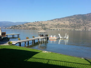 Gorgeous Vacation Home on Okanagan Lake with dock boat lift