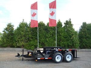 Drop Deck Trailers by Miska - Super Versatile