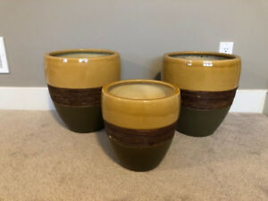 Glazed Flower pots