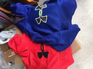 Under armour sweatshirts- youth large for 2 for$10.00