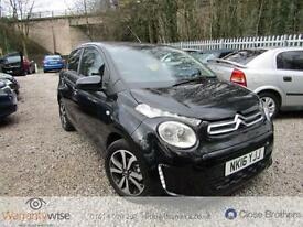 CITROEN C1 PURETECH FLAIR, Black, Manual, Petrol, 2016 CAT D LOW MILEAGE