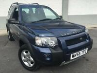 2006 56 Land Rover Freelander 2.0Td4 2006MY Adventurer 3 door ONLY 45000 MILES