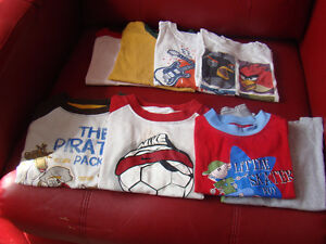 Assortment of boys clothing