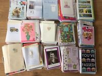 Job Lot Greeting Cards (800) ideal for car boot sale